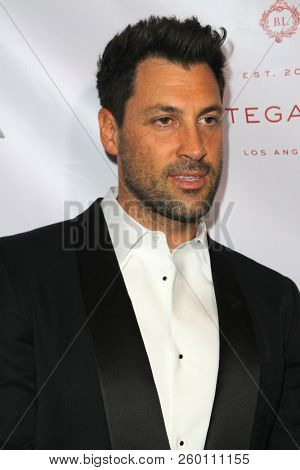 Val Chmerkovskiy arrives at the 9th Annual Face Forward Gala at the Beverly Wilshire Hotel in Beverly Hills, CA on Sept. 22, 2018.