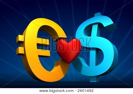 Dollar And Euro Love