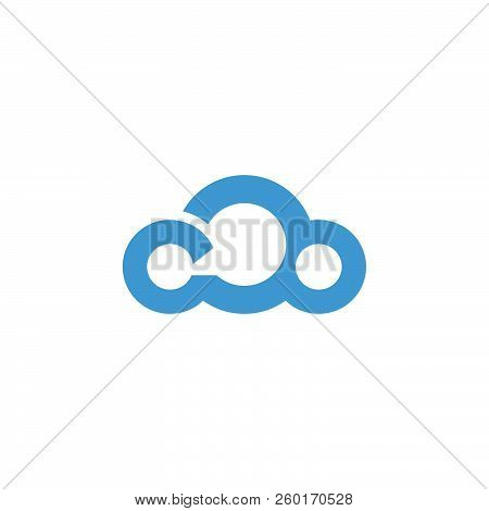 Abstract Cloud Vector Icon Flat Design. Cloud Icon Web Cloud Icon Art Cloud Icon Cloud Icon Cloud Ic