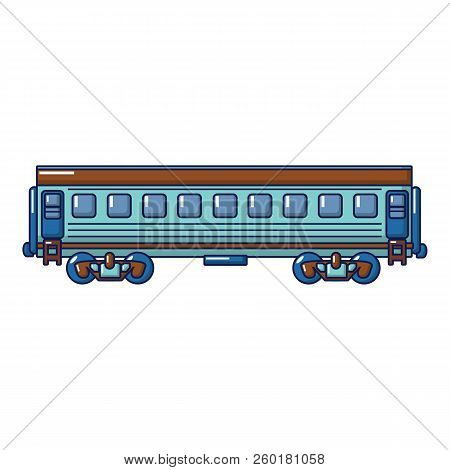 Modern Passenger Wagon Icon. Cartoon Of Modern Passenger Wagon Icon For Web Design Isolated On White