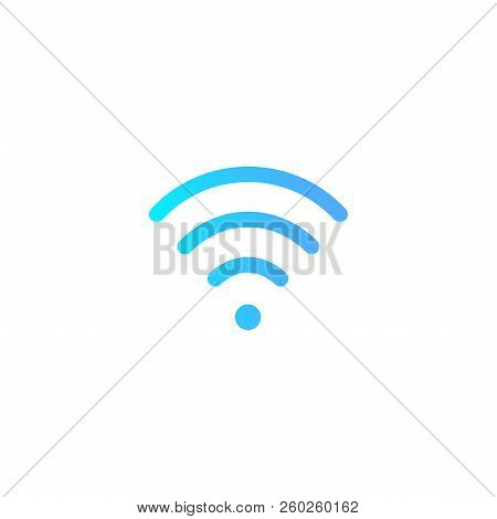 Wifi Icon Vector Isolated On White Background For Your Web And Mobile App Design, Wifi Logo Concept