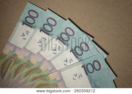 Cash Belarusian Money After The Devaluation. Salary Or Credit.
