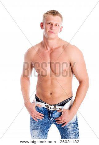Atleta uomo