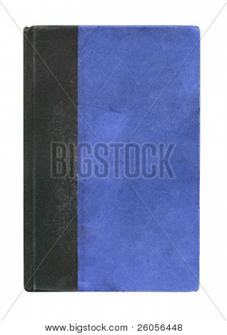 old blue book cover