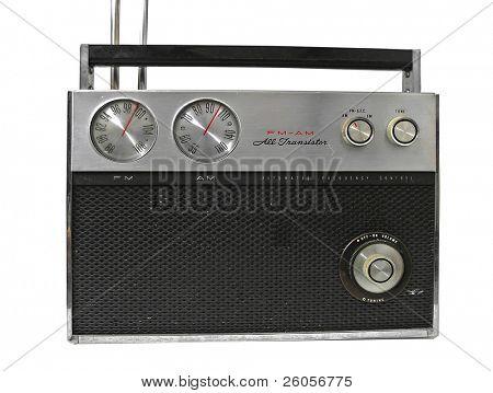 old 70, radio white background