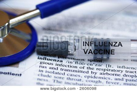 Influenza And Stethoscope