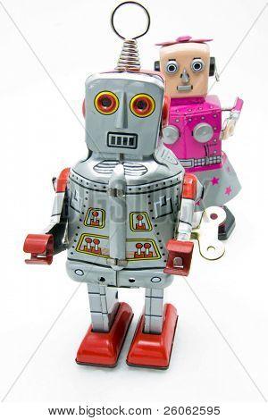 retro robot toys