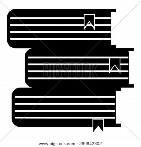 Foreign Books Icon. Simple Illustration Of Foreign Books Icon For Web
