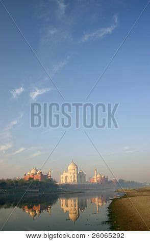 Taj Mahal. Five minutes before the dawn.