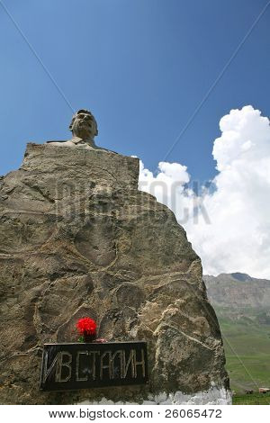 Stalin monument - dictator