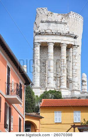 La Turbie - Trophy of the Alpes (Trophy of Augustus), a Roman monument poster