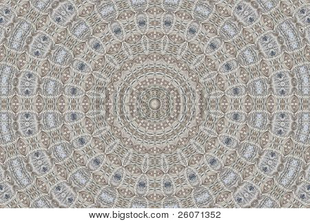 Abstract fractal background (made from image of Basilica del Voto Nacional in Quito, Ecuador)