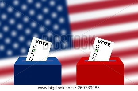 United States Elections. Us Midterm Elections 2018: The Race For Congress. Elections To Us Senate In