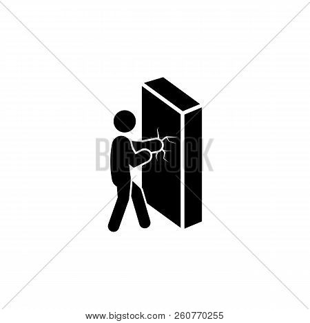 Overcoming Difficulties Icon. Element Of Overcome Challenge Illustration. Premium Quality Graphic De
