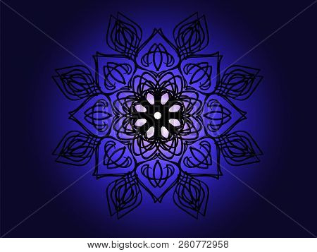 Vector Illustration Abstract Lighting Pattern