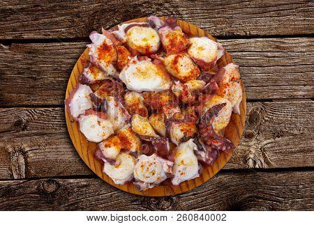 Pulpo a la gallega octopus spanish recipe