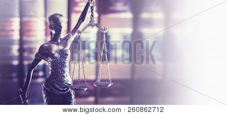 Legal law concept image horizontal banner style