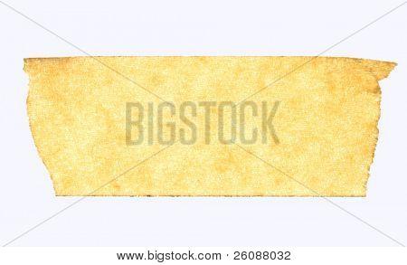 masking tape close up isolated on white macro