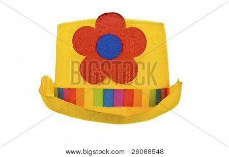 Yellow Clown hat