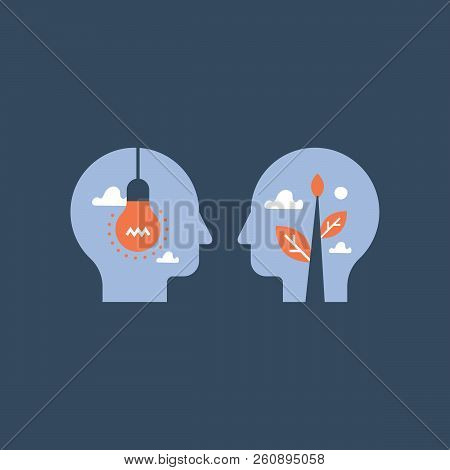 Mentorship Concept, Guidance And Leadership, Empathy And Communication, Face To Face Heads, Negotiat