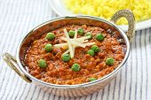 keema curry , indian food poster