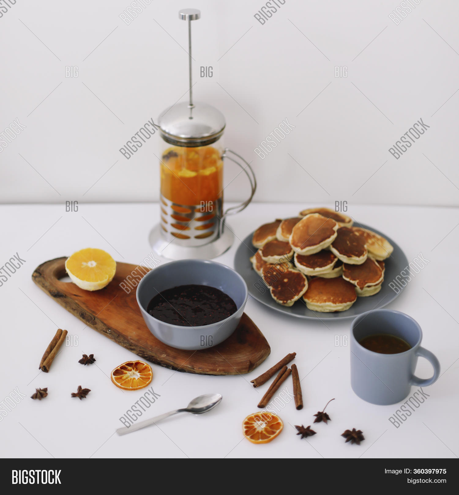 Tasty Breakfast Home Image Photo Free Trial Bigstock