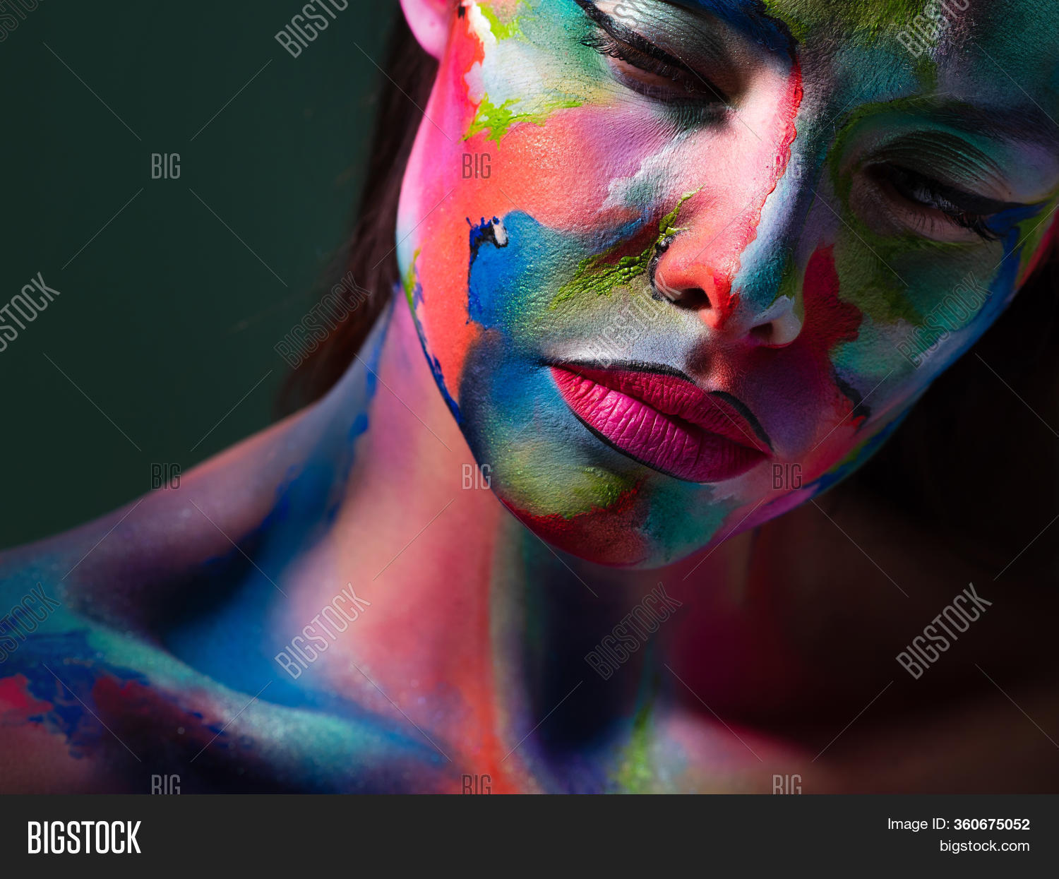 Face Art Body Art Image Photo Free Trial Bigstock