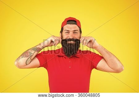 Male Summer Fashion. Barber Salon And Facial Hair Care. Being Trendy And Brutal. Beard And Mustache