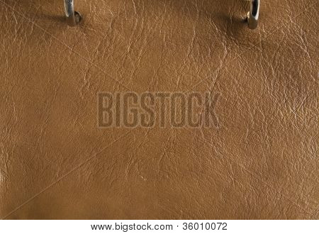 Copper Color Of Leather Texture