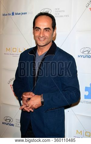 LOS ANGELES - NOV 26:  Navid Negahban at the Autism Blue Jean Ball at the Beverly Hilton Hotel on November 26, 2012 in Beverly Hills, CA12