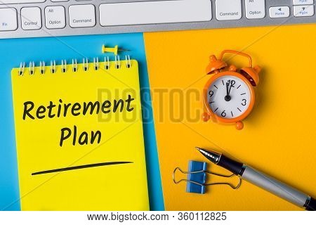 Retirement Plan - Natioanal Pension Scheme - Reminder Of The Need For Savings For A Decent, Comforta