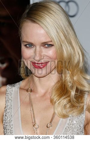 LOS ANGELES - NOV 3:  Naomi Watts at the  AFI FEST 2011 Presented By Audi -