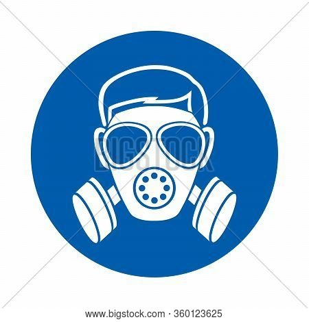 Respiratory Protection Must Be Worn. M017.  Standard Iso 7010