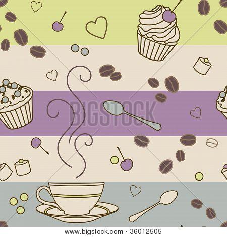 Cafe-pattern