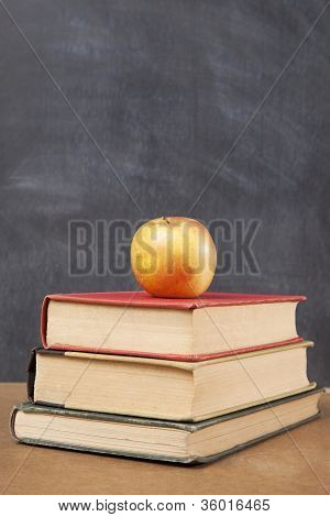 Three Books And An Apple
