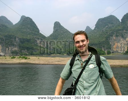 Tourist In Guilin