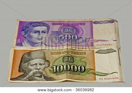 Former Money Of Yugoslavia