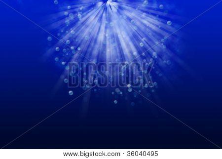 Light Rays And Bokeh