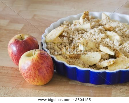 Delicious Home Made Apple Crumble