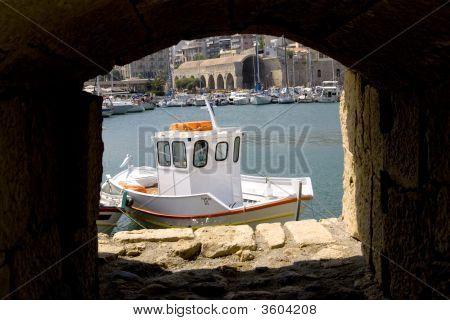 Heraclion City, Crete Greece.