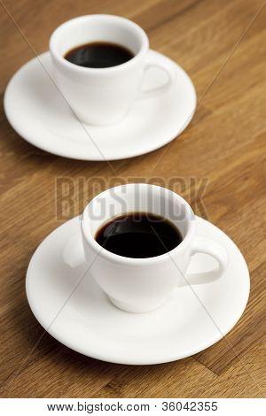 Coffee cups.
