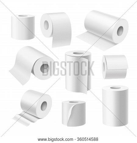 Realistic Toilet Paper Rolls, Kitchen Paper Towels
