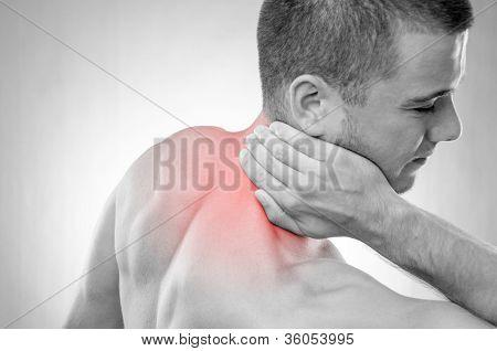 Sportsman In Pain