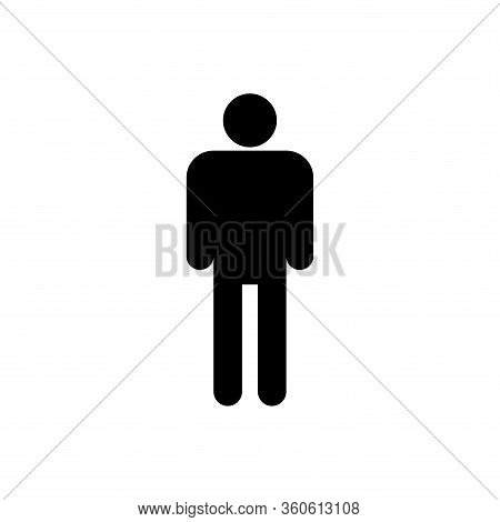 Female Icon Isolated On White Background. Female Icon Modern Symbol For Graphic And Web Design. Fema