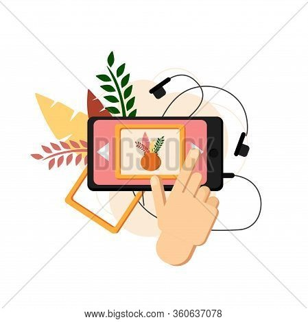 Visit The Museum Online. Be Home. Stay Home. Gallery And Museum In Mobile Phone. Artvork Ang Exhibit