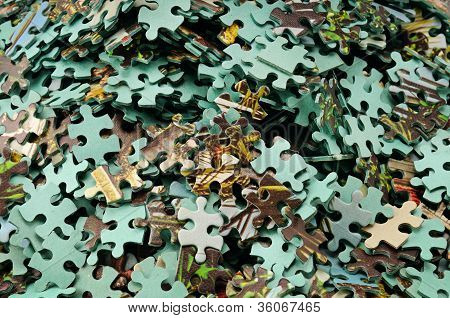 Set Of Puzzle