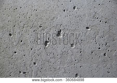 Background Of Gray Concrete. Texture, Design, Decoration, Screensaver