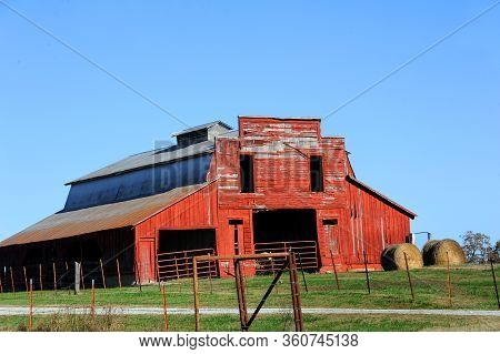 Barn Was Built With A