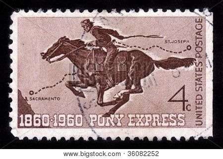 100 Yrs Of The Pony Express