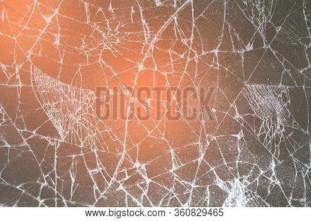 Touch Screen Crack Of Mobile Phone, Mirror Broken